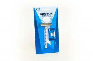 ВОСТОК классическая Т-образная бритва / классический станок для бритья, MIRBRITV.RU