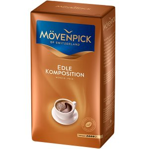 КОФЕ Молотый MOVENPICK EDLE KOMPOSITION 500 г., mirbritv.ru