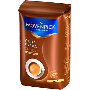 КОФЕ в Зёрнах MOVENPICK CAFFE CREMA 500 г., mirbritv.ru