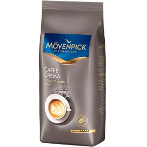 КОФЕ в Зёрнах MOVENPICK CAFFE CREMA GUSTO ITALIANO 1000 г., mirbritv.ru
