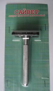 САЙВЕР классическая Т-образная бритва / классический станок для бритья, MIRBRITV.RU