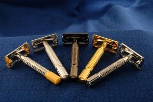 станки для бритья двусторонние классические безопасные Т-образные бритвы