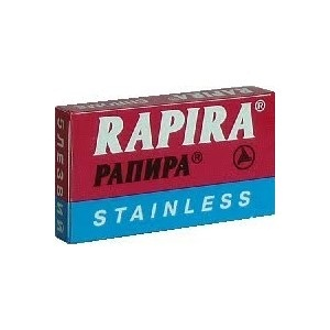 RAPIRA лезвия CHROME STAINLESS, РАПИРА лезвия ХРОМ СТАЛЬ, МирБритв.ру