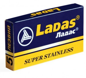 LADAS лезвия SUPER STAINLESS, ЛАДАС лезвия СУПЕР СТАЛЬ, МирБритв.ру