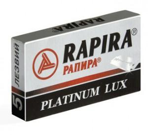 RAPIRA лезвия PLATINUM LUX , РАПИРА лезвия ПЛАТИНА ЛЮКС , МирБритв.ру