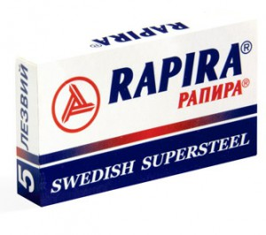 RAPIRA лезвия SUPERSTEEL, РАПИРА лезвия СУПЕР СТАЛЬ, МирБритв.ру