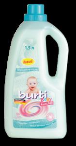 Burti Baby Kushel ополаскиватель для детского белья 1,5 л, MIRBRITV.RU