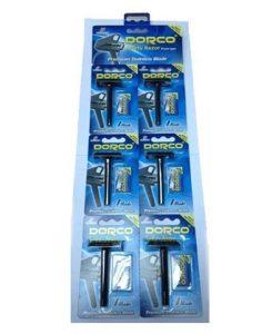 DORCO SG A1000 станок для бритья + 1 лезвие (на карте 6 станков), mirbritv.ru