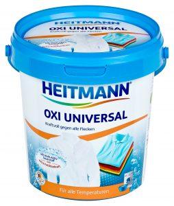 HEITMANN Oxi Universal Универсальный пятновыводитель 750 г, арт. 3560, mirbritv.ru