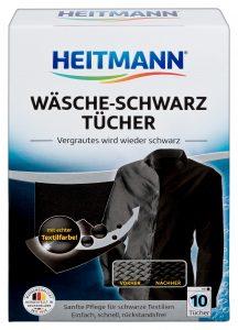 Heitmann Салфетки для стирки чёрного белья 8шт, арт.2550, mirbritv.ru