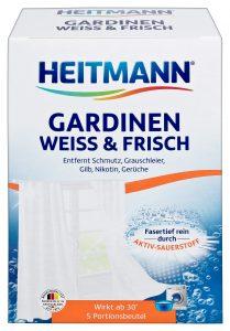 HEITMANN Средство для стирки белых гардин и занавесок 5 шт.х 50 г, арт.3514, mirbritv.ru