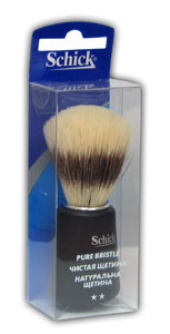 Помазок ( кисть ) для бритья Schick, MIRBRITV.RU