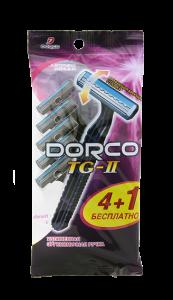 DORCO TG 711 (4+1 бесплатно) станки для бритья одноразовые ДОРКО