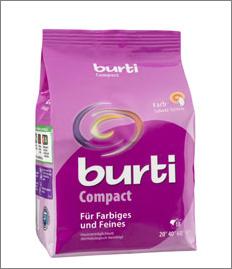 Burti compact концентрированный порошок для стирки цветного и тонкого белья 893 г, MIRBRITV.RU