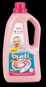 Burti Baby Liquid жидкое средство для стирки детского белья 1,5 л, MIRBRITV.RU