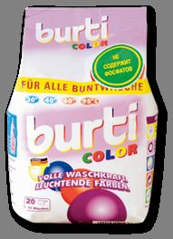 Burti Color порошок для стирки цветного белья 1,5 кг, MIRBRITV.RU