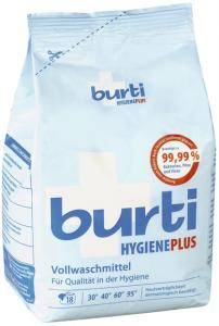 Burti HYGIENE PLUS концентрированный дезинфицирующий стиральный порошок 1,1 кг, MIRBRITV.RU