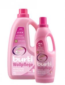 Burti Wollpflege Wolle&Seide жидкое средство для стирки изделий из шерсти и шёлка, MIRBRITV.RU