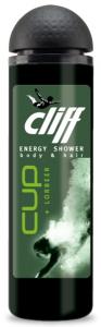 Cliff шампунь - гель для душа 2в1 ПОБЕДА cup lorbeer, MIRBRITV.RU
