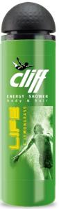 Cliff шампунь - гель для душа 2 в 1 ЭНЕРГИЯ life + lemongrass, MIRBRITV.RU