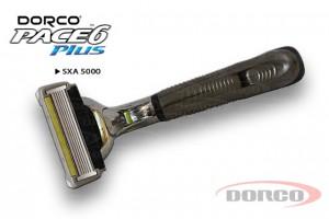 DORCO PACE 6 Plus станок для бритья, 6 лезвий + 1 лезвие-триммер (1 кассета) DORCO SXA 5000, mirbritv.ru