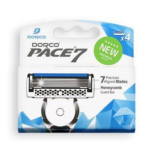 DORCO PACE 7 кассеты для бритья с 7 лезвиями, MIRBRITV.RU