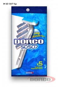 DORCO SD 507 одноразовые станки (5 шт) 1 лезвие, mirbritv.ru