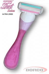 DORCO SHAI 4 Reina женский бритвенный станок с 4 лезвиями DORCO FRA 2000, MIRBRITV.RU