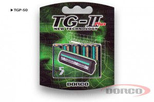 DORCO TG II Plus кассеты с 2 лезвиями, совместимы с системой Gillette Slalom, Schick Ultrex, Schick Extra2, DORCO TGP-50, mirbritv.ru