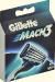 Сменные кассеты для бритвенного станка Gillette Mach3