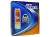 Подарочный набор Gillette Fusion. Содержит гель для бритья и лосьон после бритья