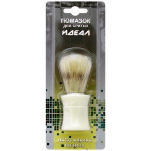 Помазок для бритья ИДЕАЛ, натуральная щетина, mirbritv.ru